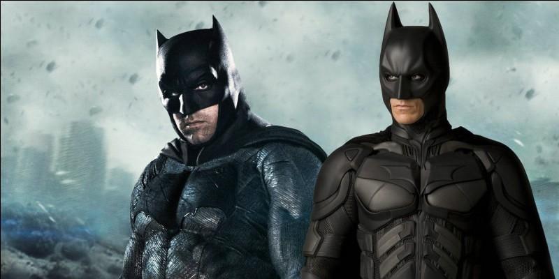Qui est le coéquipier de Batman ?