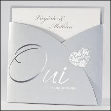 Comment s'appelle le carton d'invitation à un mariage ?
