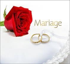C'est l'heure du mariage !