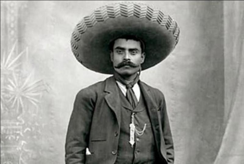 Dans quel pays eut lieu une révolution, menée principalement par Madero, Pancho Villa et Emiliano Zapata ?
