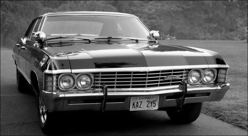 Quelle est la couleur de la voiture de Dean ?
