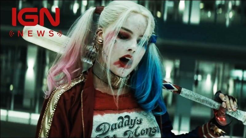 Harley Quinn a-t-elle un chewing-gum ?