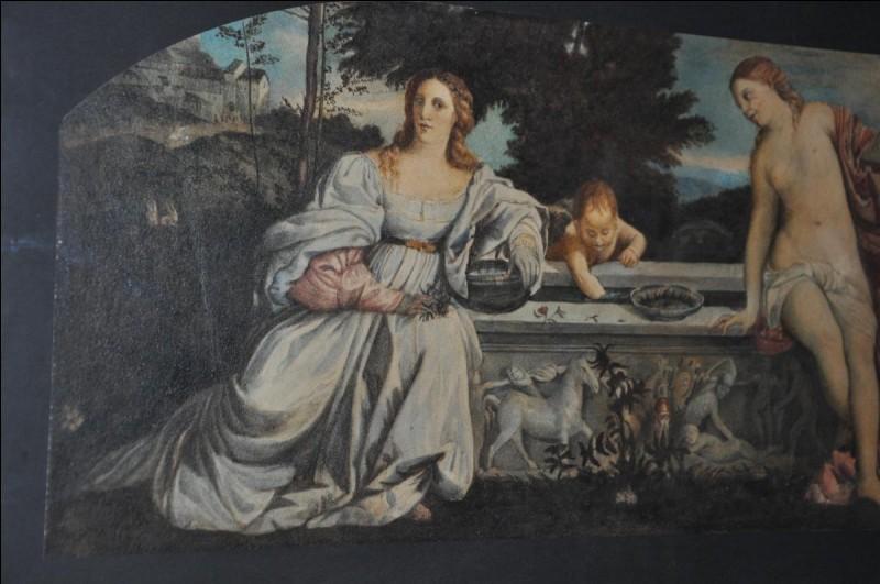 """À quel peintre doit-on le tableau """"L'Amour sacré et l'Amour profane"""" ?"""