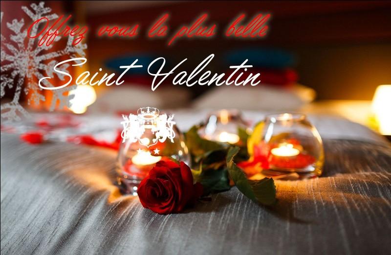 """Le titre de """"patron des amoureux"""" fut attribué à Saint-Valentin en :"""