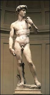 """Qui a réalisé """"David"""" entre 1501 et 1504 ?"""