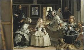 """Durant quel siècle Diego Vélasquez a-t-il peint """"Les Ménines"""" ?"""