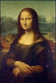 """Quelle personne est représentée dans le tableau """"La Joconde"""" de Léonard de Vinci ?"""