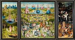 """Ce tableau de Jérôme Bosch se nomme ; """"Le jardin des..."""""""