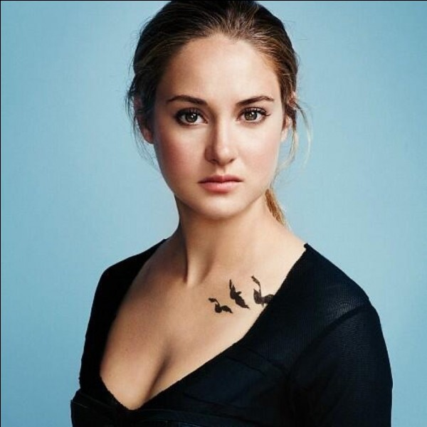 Comment s'appelle la trilogie où elle a joué dans le rôle de Tris Prior ?