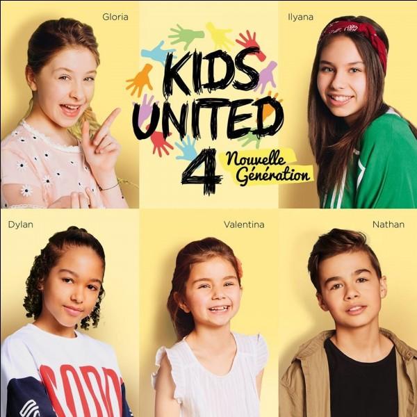 Comment s'appelle le premier album des Kids United Nouvelle Génération ?