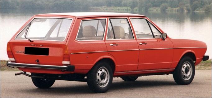 Quel est le nom de ce break Volkswagen ?