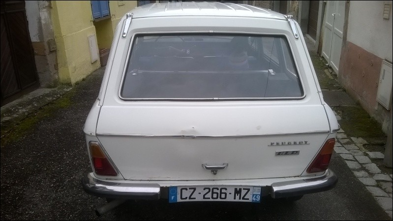 Quel est le nom de ce break Peugeot ?