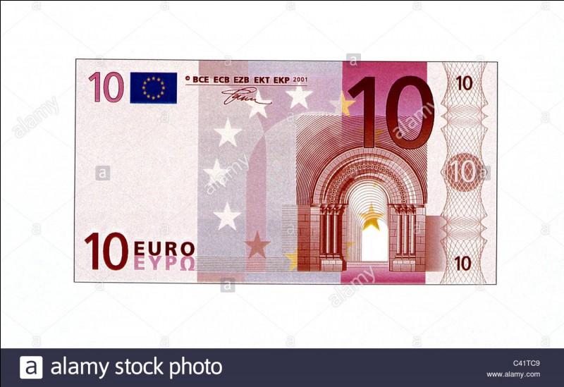 300 000 € : Quelle île n'est pas représentée sur un billet de 10 euros ?