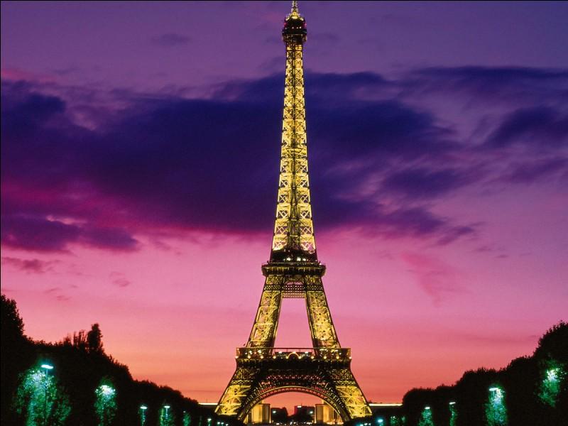 6 000 € : La tour Eiffel a été construite en ...