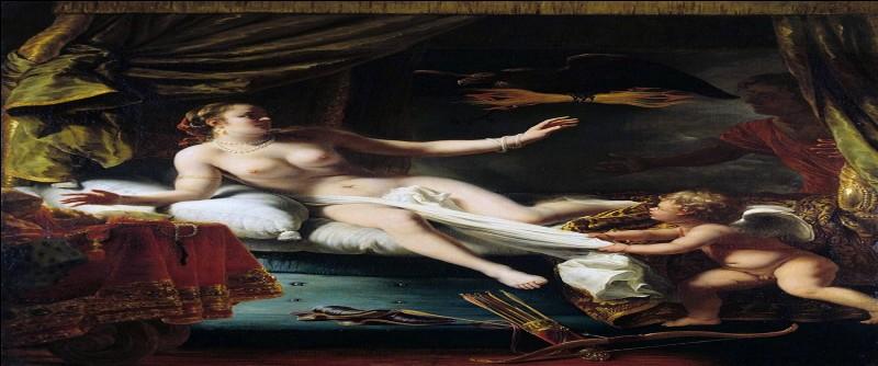 Pour séduire la belle nymphe, Égine, Zeus usa d'un stratagème : il se transforma en rapace, le plus royal, impérial, divin d'entre eux.
