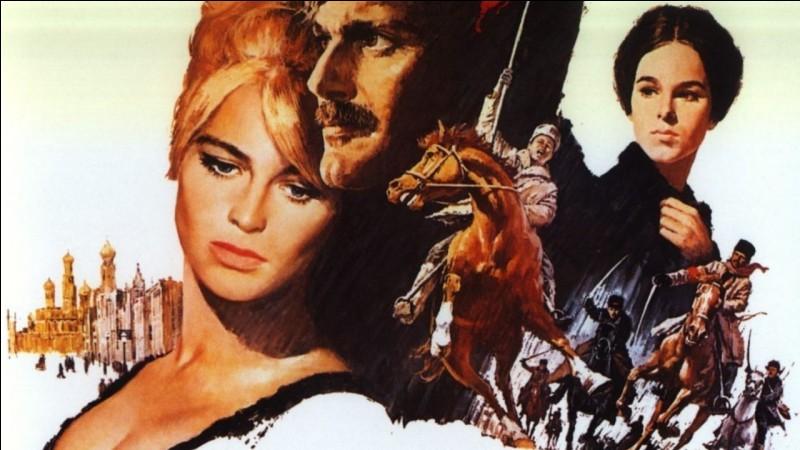 """Dans """"Le Docteur Jivago"""", Omar Sharif est confronté à un dilemme amoureux entre la brune Géraldine Chaplin et la blonde..."""