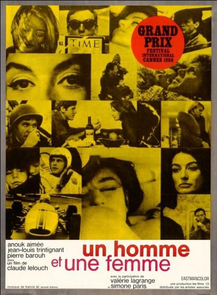 """Dans le film """"Un Homme et une femme"""", qui est la partenaire de Jean-Louis Trintignant à l'écran ?"""