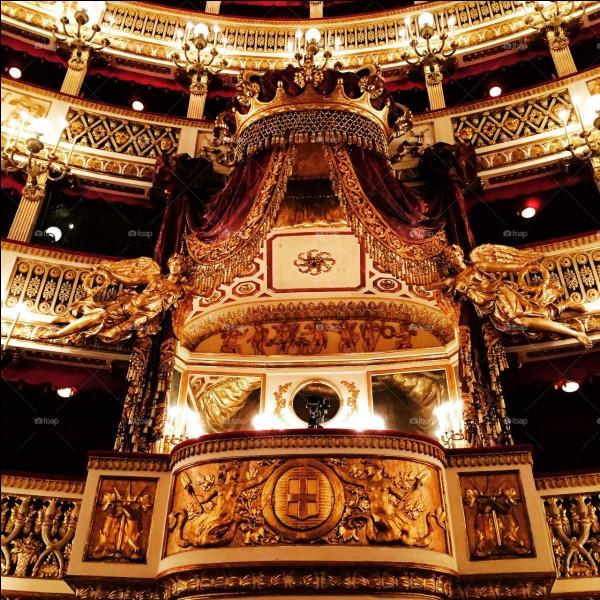 Dans quel opéra se trouve cette loge ?