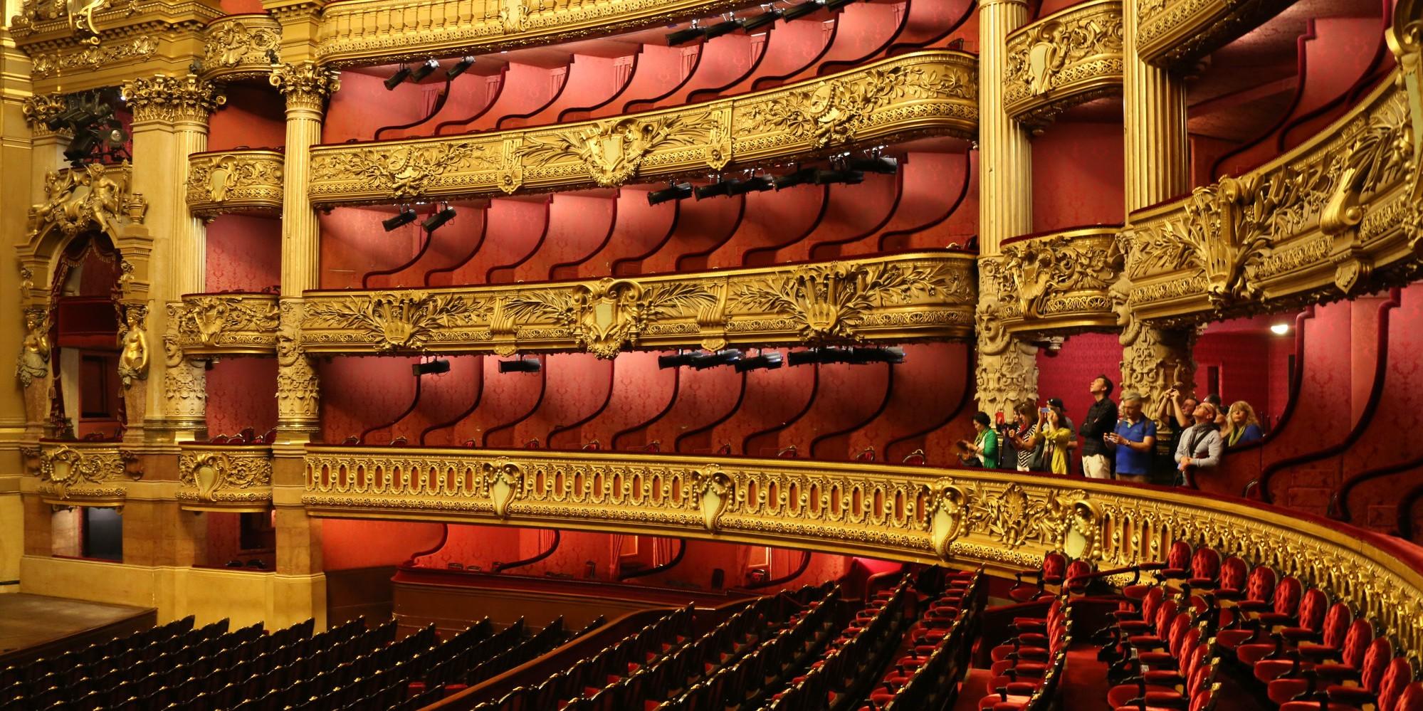 Les grandes salles d'opéra