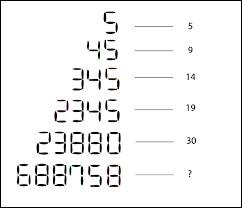 Complétez cette suite logique : 2, 4, 16, ...