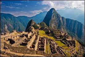 """Où se situe le """"Machu Picchu"""" ?"""