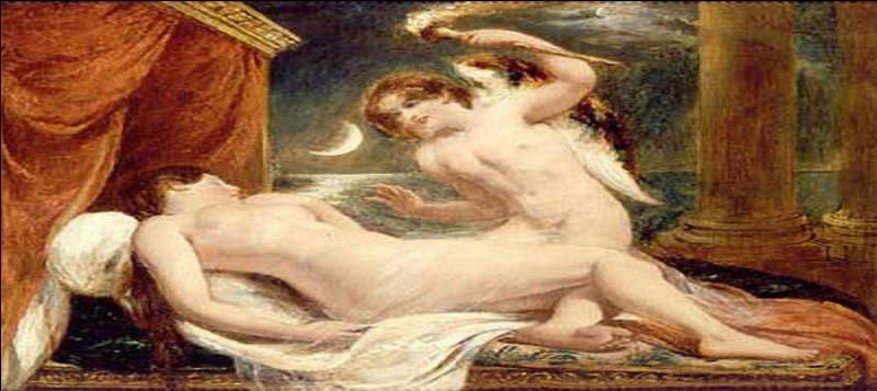 Qui naquit des amours, d'abord cachées, d'Éros et de Psyché la si belle mortelle fille de roi, celle qui faisait de l'ombre à la grande Aphrodite !?