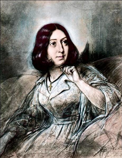 George Sand et Alfred de Musset eurent une liaison passionnée.