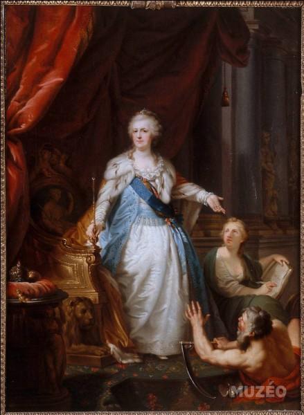 """Le dernier favori de Catherine II de Russie, dite """"La Grande Catherine"""", avait 45 ans de moins qu'elle."""