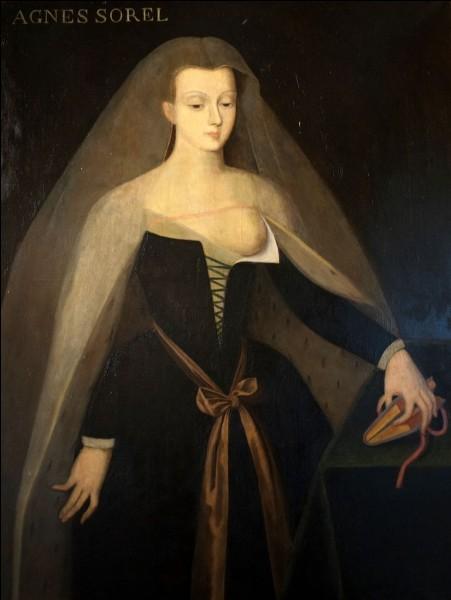 Quel domaine le roi Charles VII offrit-il à sa favorite Agnès Sorel ?