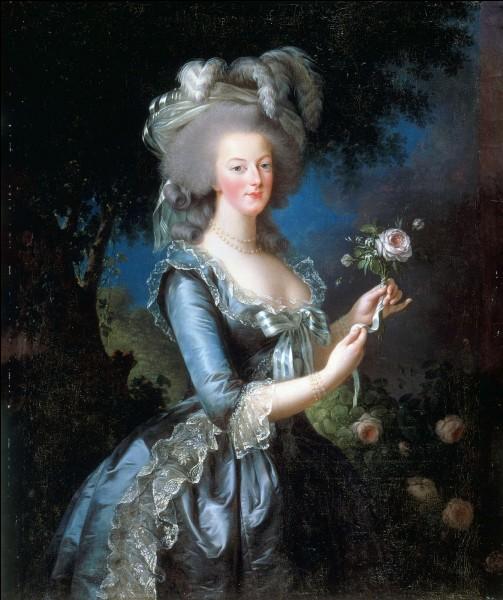 Quel est le nom du diplomate suédois que la reine Marie-Antoinette chérit en secret ?