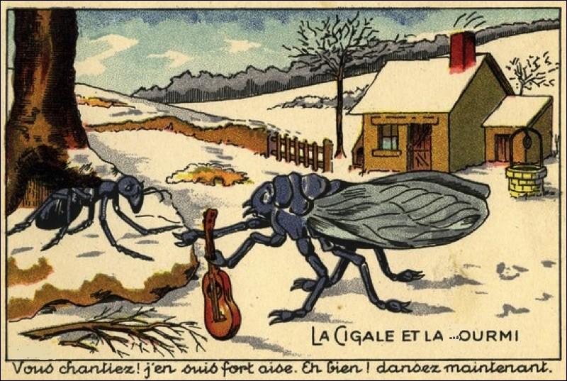 Dans une fable de La Fontaine, elle est tout le contraire de la cigale. Comment écris-tu le nom de celle qui est travailleuse et fait des provisions pendant l'été pour résister au froid de l'hiver ?