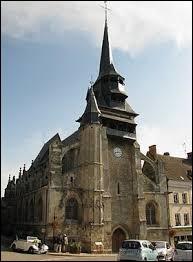 Nous sommes devant l'église Saint-Martin de Nonancourt. Ville Euroise, elle se situe dans l'ancienne région ...