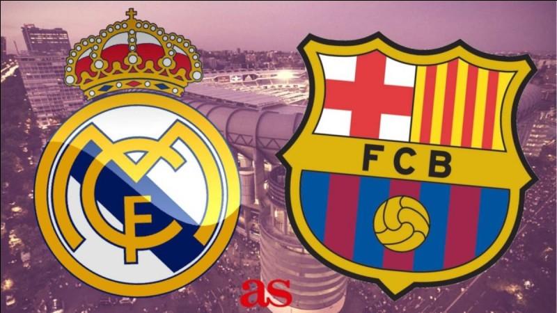Quel est le score de Barcelone-Real Madrid ?
