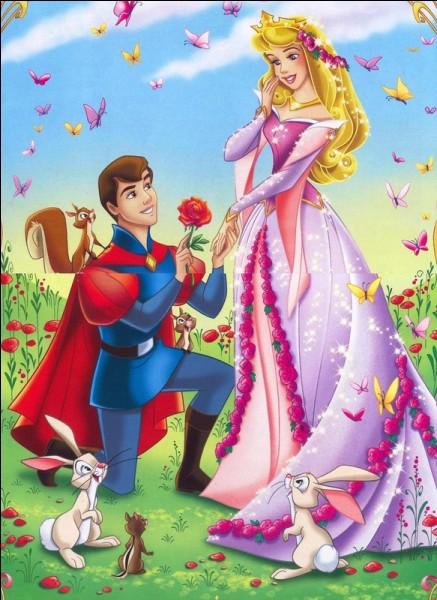 Et on termine avec la princesse Aurore qui fut enfin réveillée par l'amour du prince...