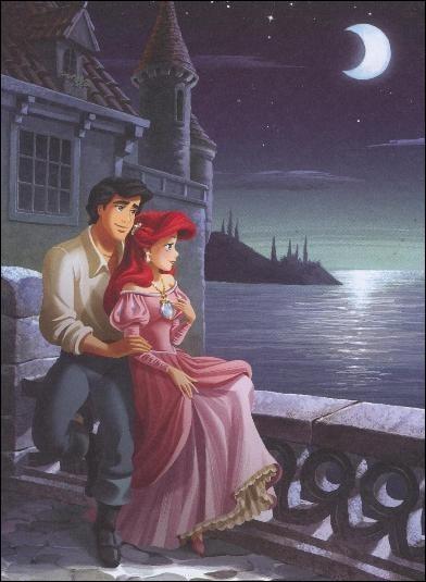 Contrairement au proverbe, ce n'est pas la peur, mais l'amour qui a donné des jambes à Ariel. Qui est son prince ?