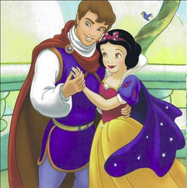 Avec quel prince, la réveillant par un baiser, dans son cercueil, Blanche-Neige connaîtra-t-elle l'amour éternel ?
