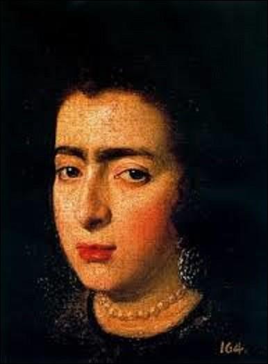 Entre le 10 et le 14 août 1989 a lieu au palais royal de Madrid un vol de plusieurs tableaux, dont ''Portrait d'une dame'' peint vers 1625. Fragment d'une peinture, sauvé de l'incendie qui ravagea l'Alcazar royal de Madrid en 1734.Quel baroque a dépeint le portrait de cette femme ?