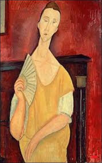 Le dernier à avoir été dérobé cette nuit-là se nomme ''La Femme à l'éventail''. Tableau réalisé en 1919.Quel artiste de mouvement d'art figuratif, d'art moderne et de l'École de Paris a réalisé cette huile sur toile ?