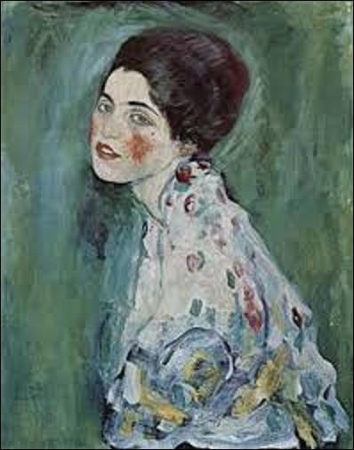 ''Portrait d'une dame'' est un tableau volé aux alentours du 22 février 1997. Subtilisé à la galerie de Piacenza en Italie peu avant son exposition.Quel symboliste est l'auteur de cette toile ?