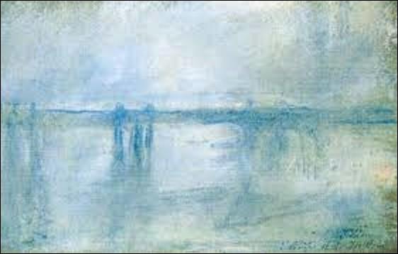 Je m'arrête deux minutes sur un vol qui eut lieu les 15 et 16 octobre 2012 au musée Kunsthal de Rotterdam qui vit sept de ces toiles dérobées, dont voici trois d'entres-elles. Le premier est une huile sur toile peinte en 1901 intitulée ''Charing Cross Bridge, London'' par un impressionniste. Qui a réalisé ce tableau ?