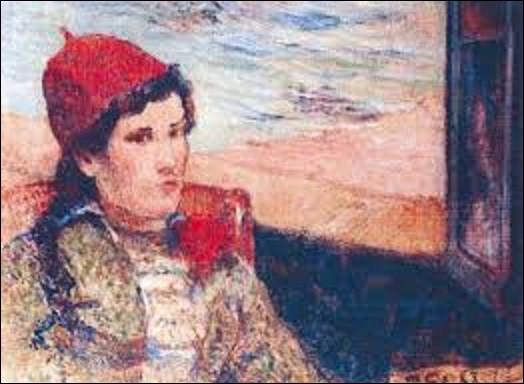 La dernière se nomme ''Femme devant une fenêtre ouverte'' ou ''La Fiancée'', datant de 1888.Quel postimpressionniste a peint cette huile sur toile ?
