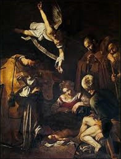 Mesurant 2,68 m de haut sur 1,97 m de long, ''La Nativité avec Saint François et Saint Laurent'' est un tableau qui fut volé le 16 octobre 1969 à l'Oratoire de San Lorenzo à Palerme. Estimé à 20 000 000 millions de dollars, la mafia sicilienne est fortement soupçonnée d'avoir commandité ce vol. Parmi ces trois peintres de l'époque baroque, lequel a réalisé cette peinture en 1609 ?