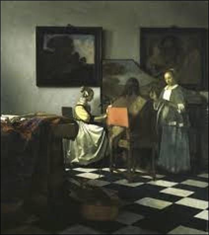 Le vol le plus important de l'histoire de l'art eut lieu à Boston le 18 mars 1990, où treize tableaux d'une valeur estimée à 500 millions de dollars furent dérobés au musée Isabella Stewart Gardner. Parmi ces peintures usurpées, on compte ''Le Concert'' peint entre 1663 et 1666 par un peintre baroque, et qui vaut à lui seul la somme de 200 000 000 millions de dollars. Qui est son créateur ?