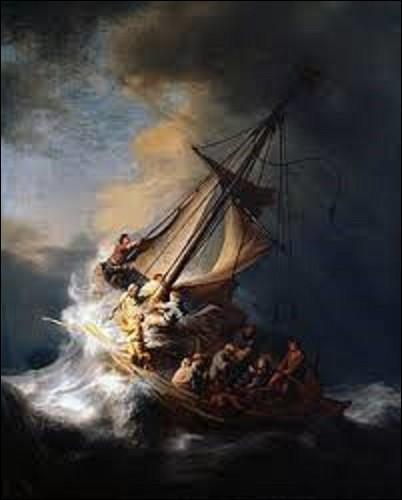 Autre tableau de valeur à avoir disparu ce jour-là est ''Le Christ dans la tempête sur la mer de Galilée'', datant de 1633. Quel baroque a peint cette huile sur toile représentant une scène biblique décrite dans le Nouveau Testament ?