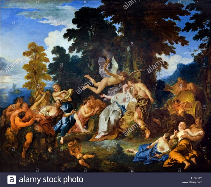 """À qui doit-on """"Les Noces de Bacchus et Ariane"""" ?"""