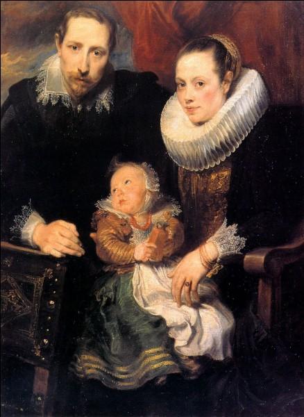 """Quel artiste a réalisé """"Portrait de famille"""" ?"""