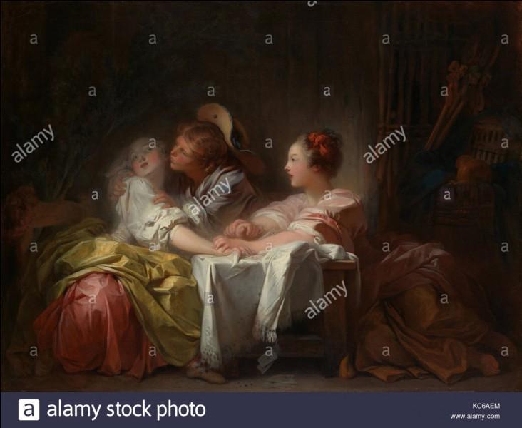 """De quel peintre est le tableau """"Le Baiser volé"""" ?"""