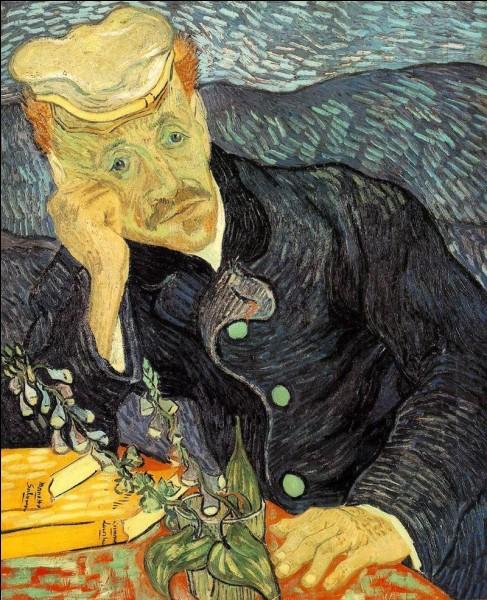 Voici le « Portrait du docteur Gachet avec branche de digitale » (1890). Gachet est le médecin qui a pris soin de Van Gogh pendant ses derniers mois de vie. En parlant de docteur, le film français « Knock » de Lorraine Lévy parle d'un ancien voyou devenu médecin qui débarque dans le petit village de Saint-Maurice afin d'y faire fortune en suivant son adage « Tout homme bien portant est un malade qui s'ignore. ». Mais tenait le rôle du docteur Knock ?