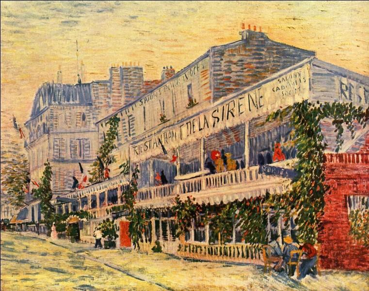 « Le Restaurant de la Sirène à Asnières » (1887) me fait penser à ce célèbre sketch « Le 22 à Anières ». Qui est l'auteur de ce célèbre sketch ?