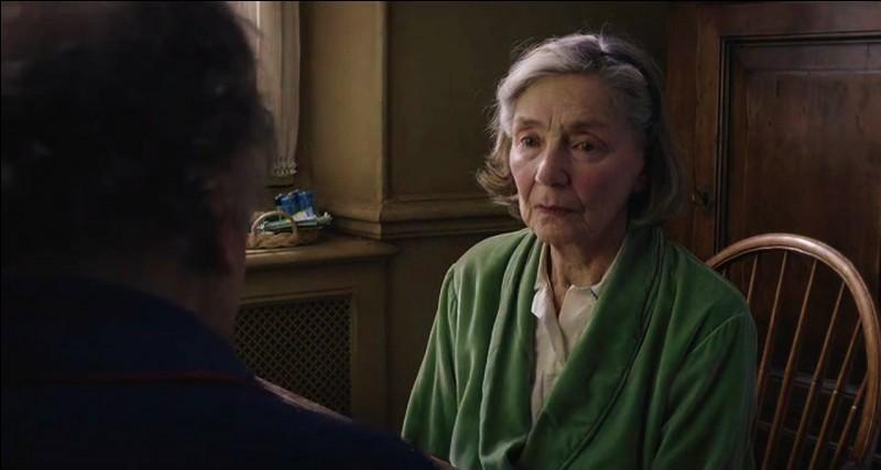 """Film d'amour dramatique.le film """"Amour"""" réunit à l'écran Emmanuelle Riva et..."""